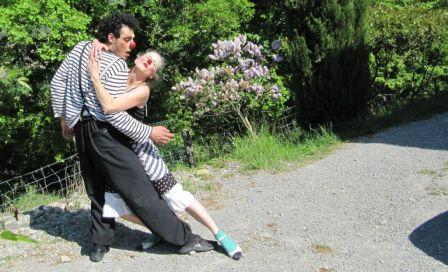 Eva et le Tango-Clown !
